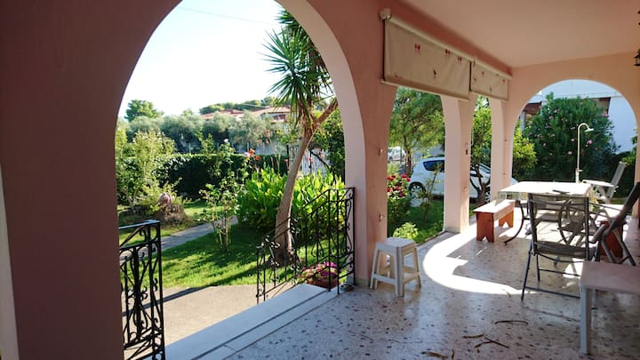 House with 3 bedrooms in Kakovatos, with enclosed garden and WiFi