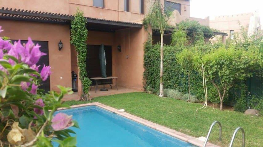 Villa avec pissine Les Palmerie Jardin de l'Atlas - Marrakech - Huvila