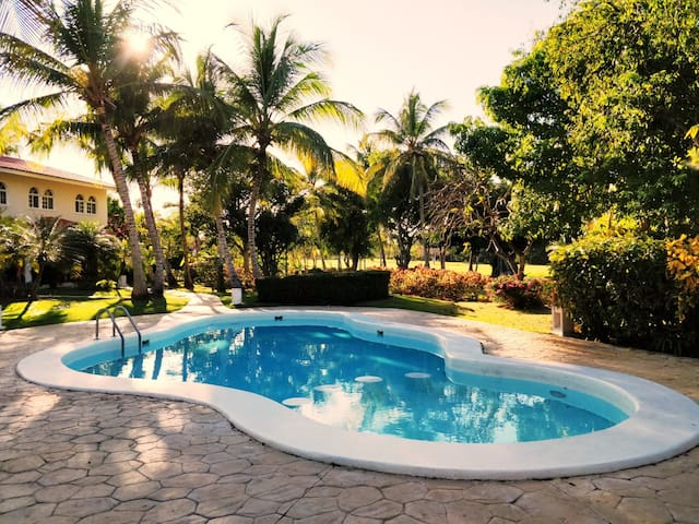 2BR Townhouse*golf*pool*Punta Cana*A/C*SDQRentals