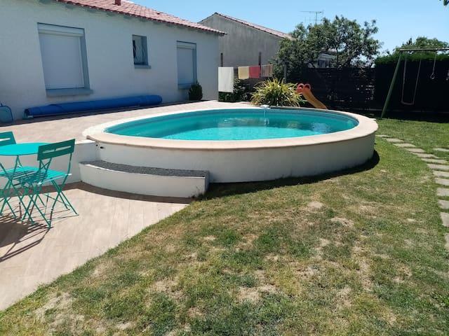 Maison avec piscine Vendée- chambre Harry Potter