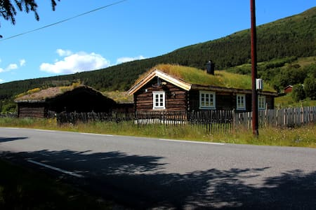 In the heart of Jotunheimen, Søre Vangen Cabin