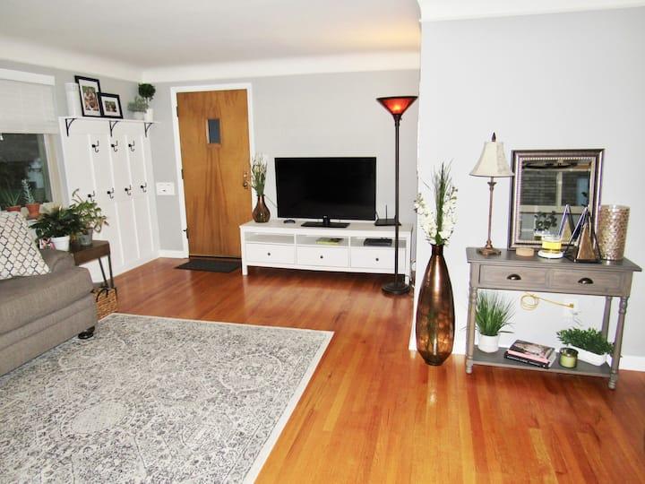 Cozy Cincinnati home with a great location