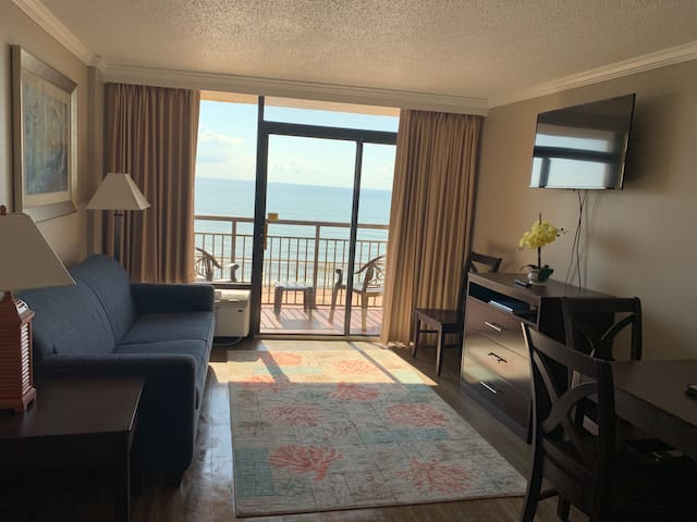 Serenity by the Sea. Oceanfront Condo.