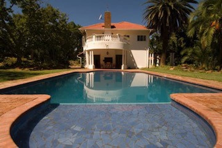 Superbly situated, Colonial elegance