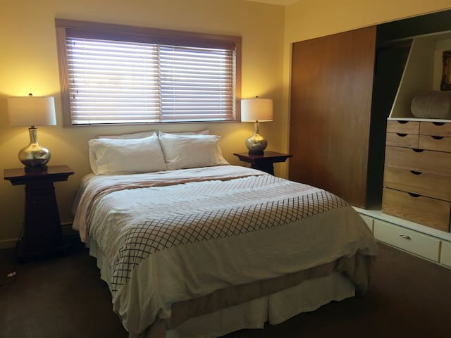 Queen Room, private, sleeps 2