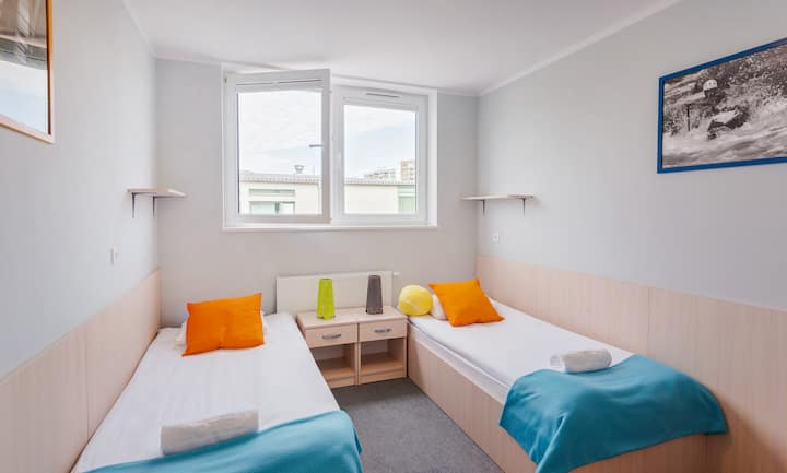 Room for 2 people - 20 minutes from the beach