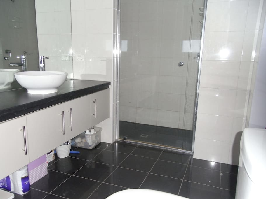 Shower in the ensuite