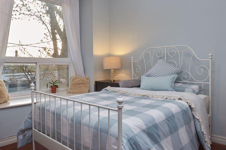 Sun-bathed Master Bedroom in Westend Toronto