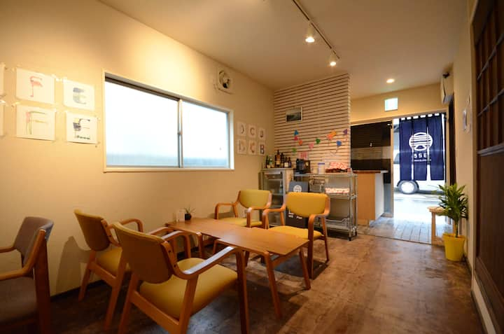 ★328HOSTEL&LOUNGE★~2 bed Private room 3~