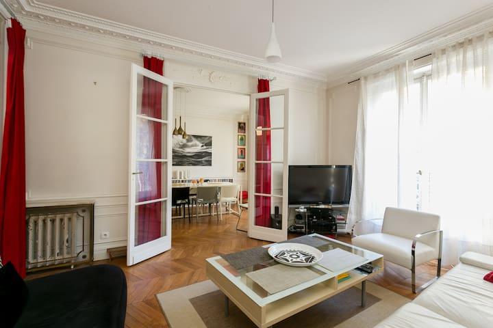 Superbe appartement Paris16 en bail mobilité