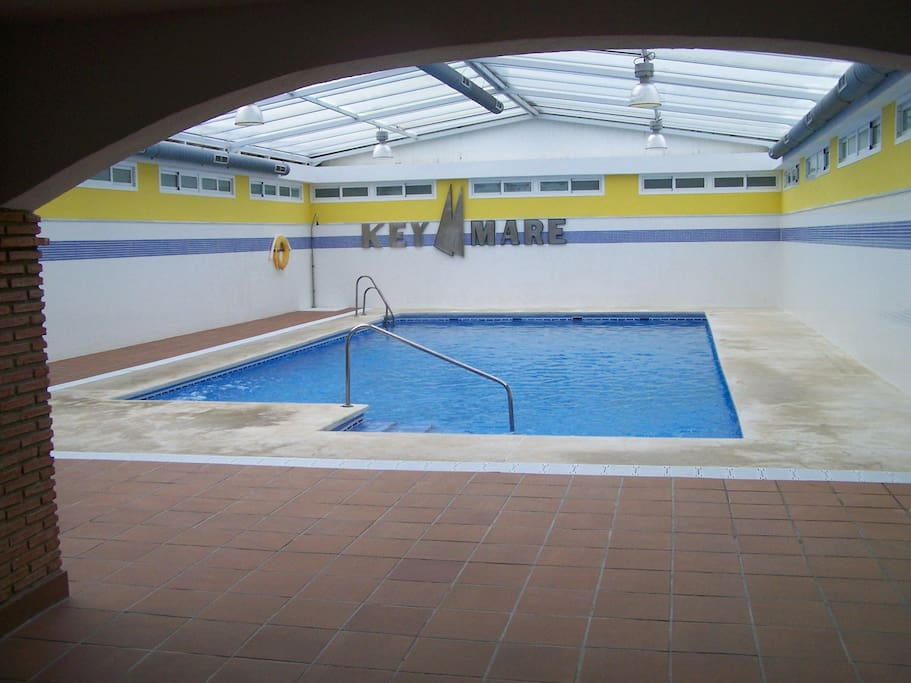 inside pool  ( 14mx6m)