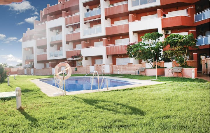 Amazing home in Roquetas de Mar with WiFi and 1 Bedrooms