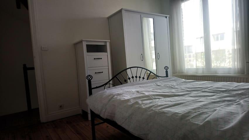 Chambre confortable, jardin, 15min Lille centre