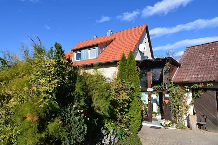 Holiday apartment in Franconia surrounded by lovely countryside