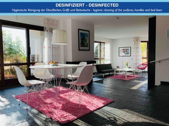 Villa in Esslingen mit Weitblick, Pool und Garten