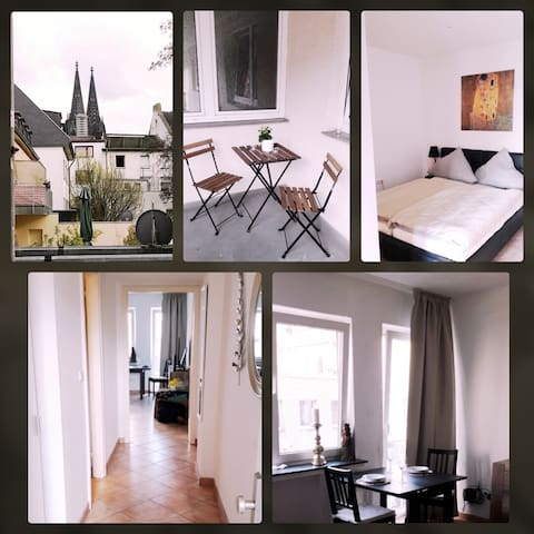 Modern City Apartment In The Heart of Cologne - Colonia - Condominio