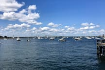 It's only forty scenic minutes to drive to beautiful spots like this in Newport, RI. A place where there is always tons of stuff to do, see and eat.