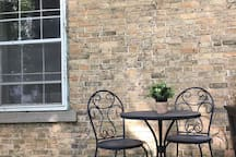 Lots of outdoor seating areas for you to enjoy the country views!