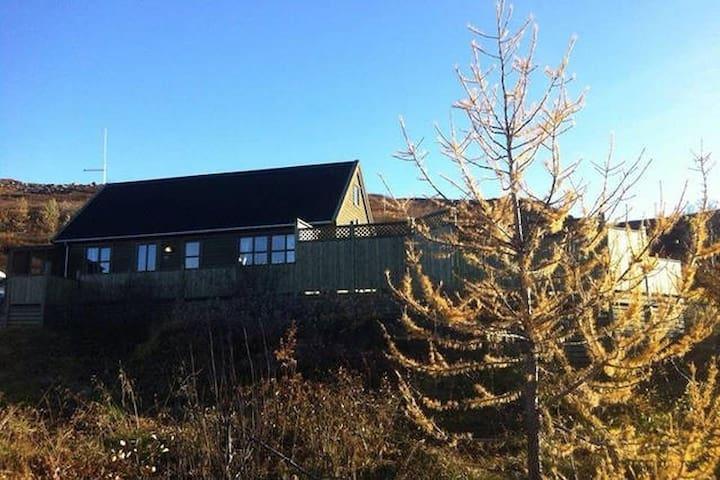 Summerhouse/Einbúi/Nes - N Iceland - Ljosavatn - Srub