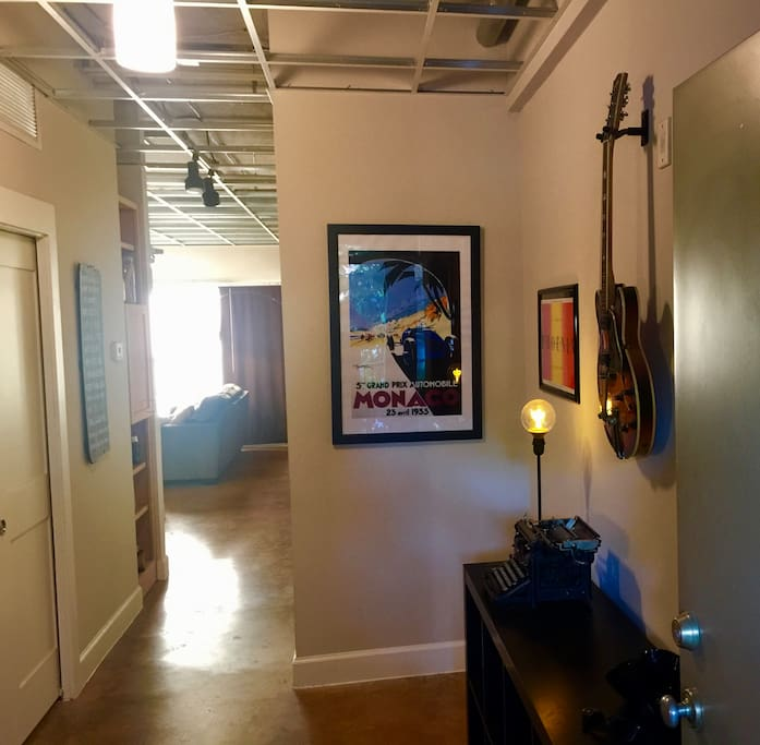 Entry Way to the loft