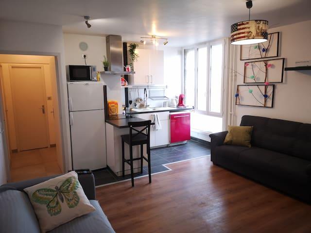 Chambre seule en colocation - Metro St Cyprien (3)