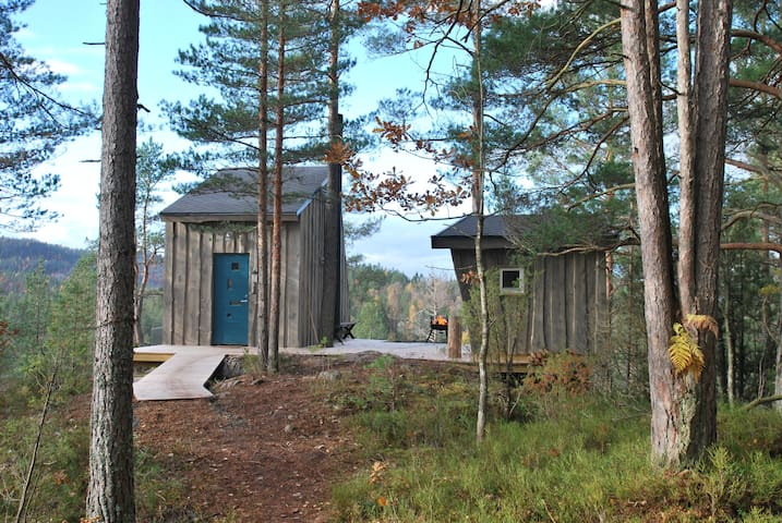 Micro cottages in Kragerø. In the nature. - Kragerø - Zomerhuis/Cottage