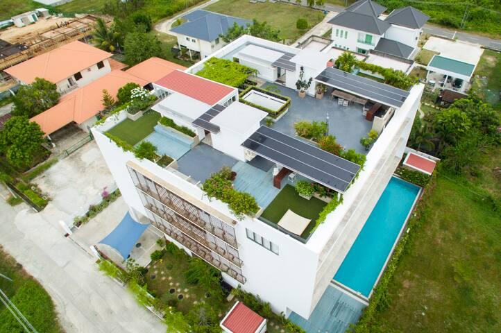3-bedroom modern apartment with rooftop garden - Bandar Seri Begawan - Apartamento