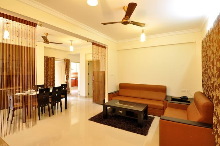 Guestlines serviced Apartments - Coimbatore - Appartement