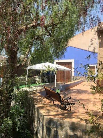La Casa Azul, casa rural en Cartagena