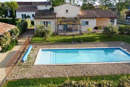 La campagne proche du village - Sainte-Cécile-les-Vignes - Rumah