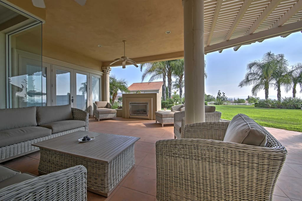 Lounge outside and spend countless hour in the outdoor, patio entertainment area and yard!