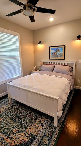 Master bedroom, located on the ground floor.