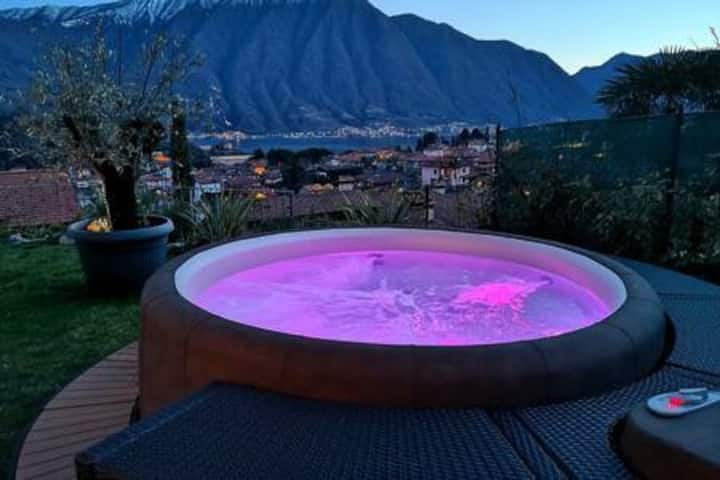 Magic Garden-Pool&Jacuzzi and amazing Lake  view