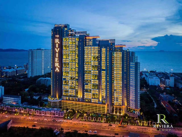 RivieraJomtien New Condo Sea View1BR Highest Floor