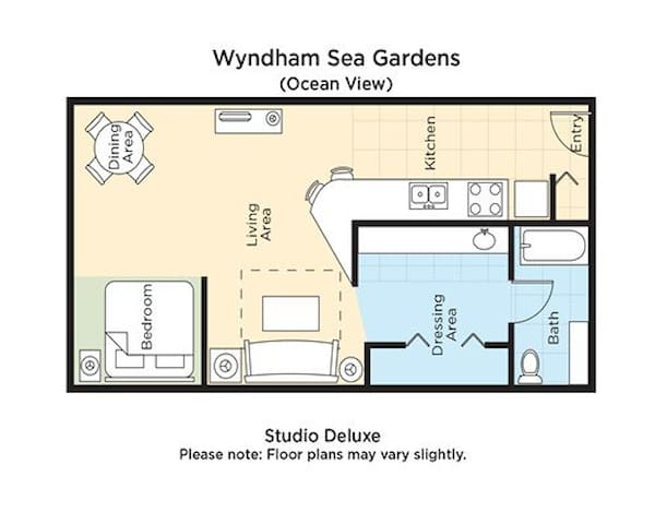 Beach Studio at Wyndham Sea Garden