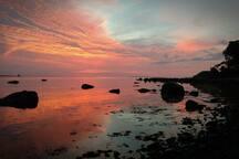 Sunset, Shelter Island Sound