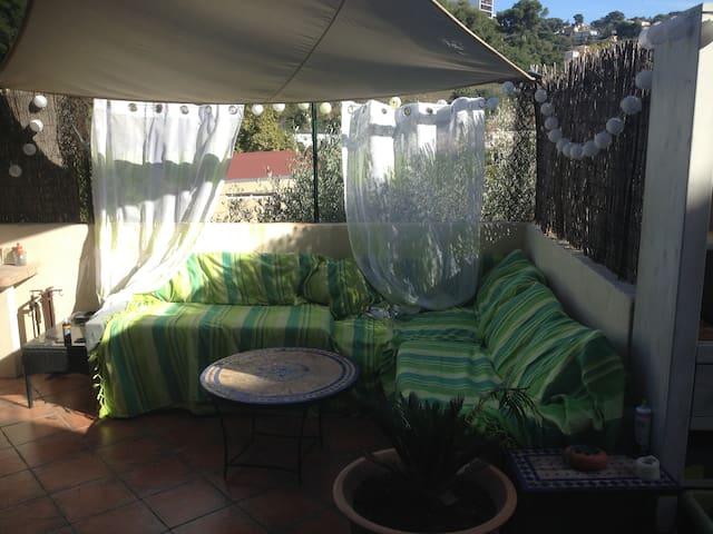 Chambre privée dans villa tout confort