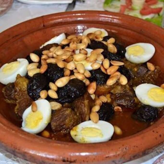 Traditional tajine for dinner
