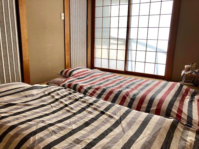 熊本豪雨災害被災者支援 (1階の和室)