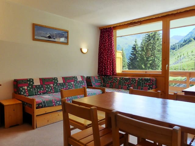 PS0608 - 2 ROOMS SKI IN AND SKI OUT SOUTH EXPOSITION - MERIBEL MOTTARET - Apartment