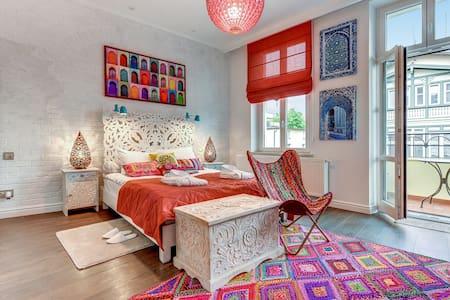 Marrakesz pokój z balkonem - Σόποτ