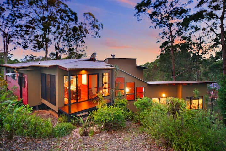 Private forest 10 mins to beach for up to 4 guests - Buderim - Haus