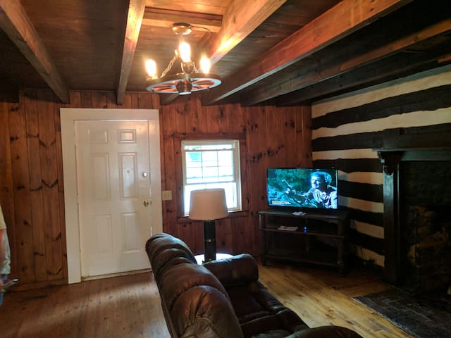 43-inch TVs ln Living room and  Bedroom
