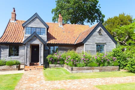 Romantic Rose Cottage @ Letheringham Lodge - Woodbridge - Hus