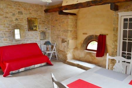 Gîte 'Un Temps pour Soi', grange en pierres - Parisot - Apartment