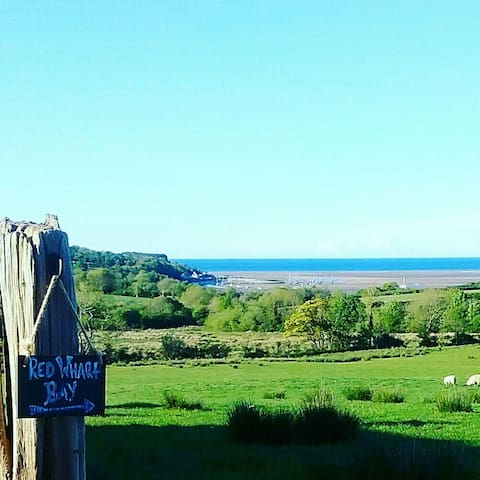 Anglesey. Red Wharf Bay View Retreat for Two. - Pentraeth - Casa