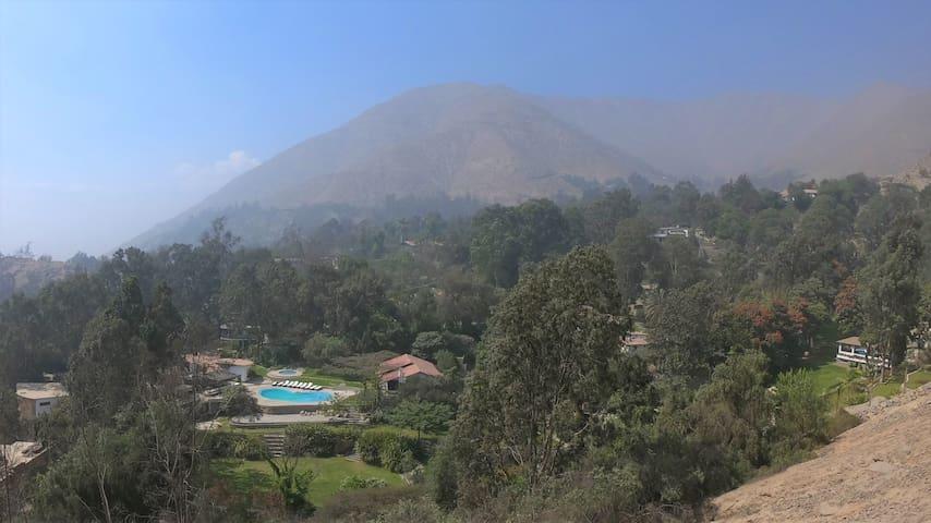SUITES en Casa de Campo Chaclacayo mas de 7000m2