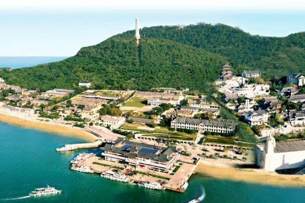 刘公岛 国家5A级旅游景区 公交直达 出租车费¥18