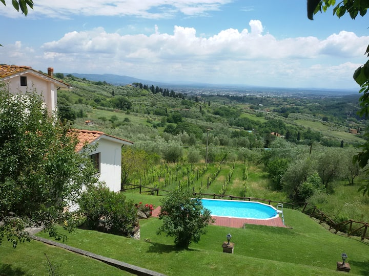 Fiordaliso House:  Lucca, Pool, garden, bbq, wifi