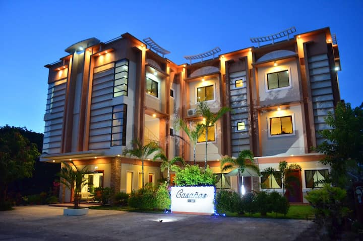 A newly open homey stay hotel the CASAÑAS SUITES!!